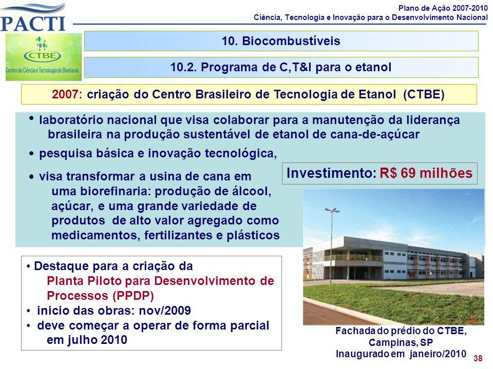laboratório nacional que visa colaborar para a manutenção da liderança brasileira na produção sustentável de etanol de cana-de-açúcar pesquisa básica