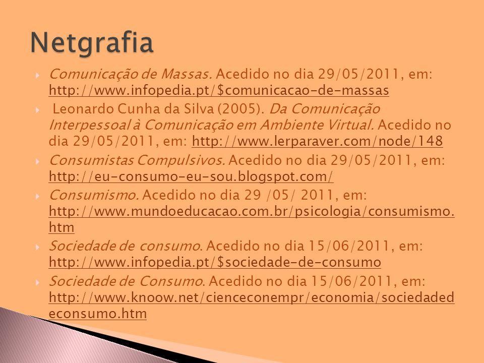  Comunicação de Massas.