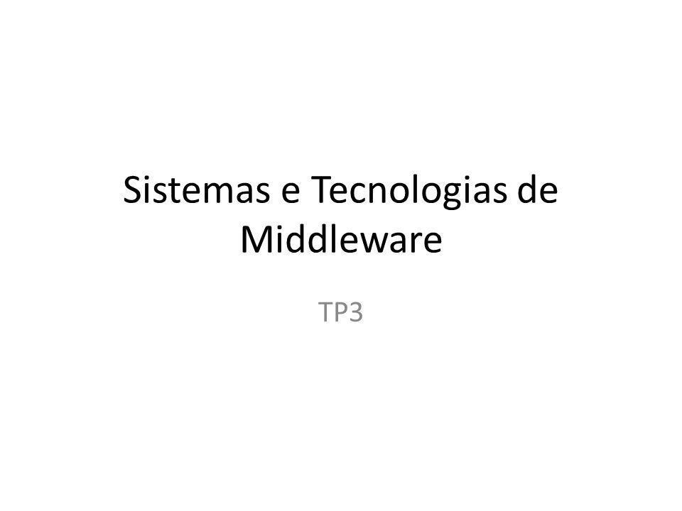 Sistemas e Tecnologias de Middleware TP3
