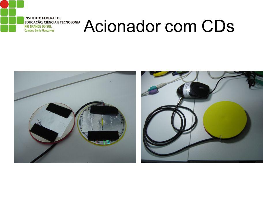 Acionador com CDs