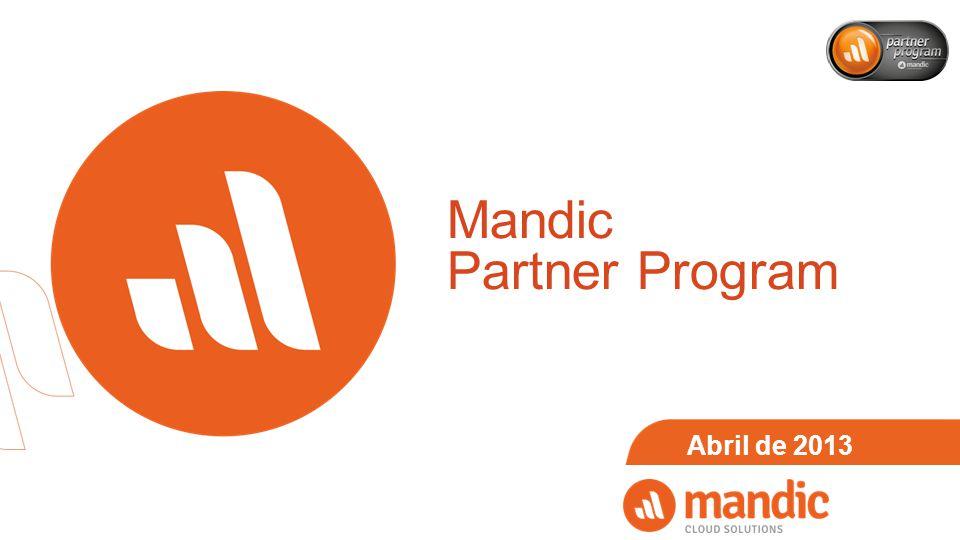 Mandic Partner Program Abril de 2013