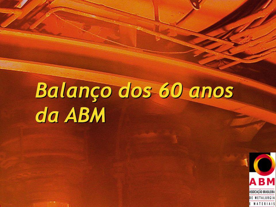Balanço dos 60 anos da ABM