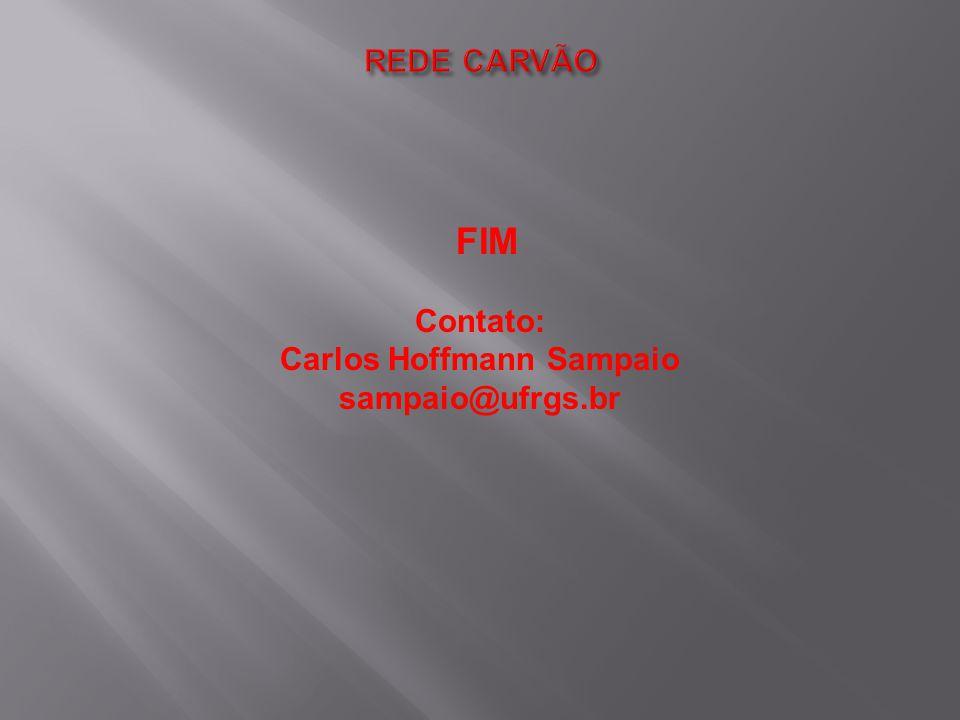 FIM Contato: Carlos Hoffmann Sampaio sampaio@ufrgs.br