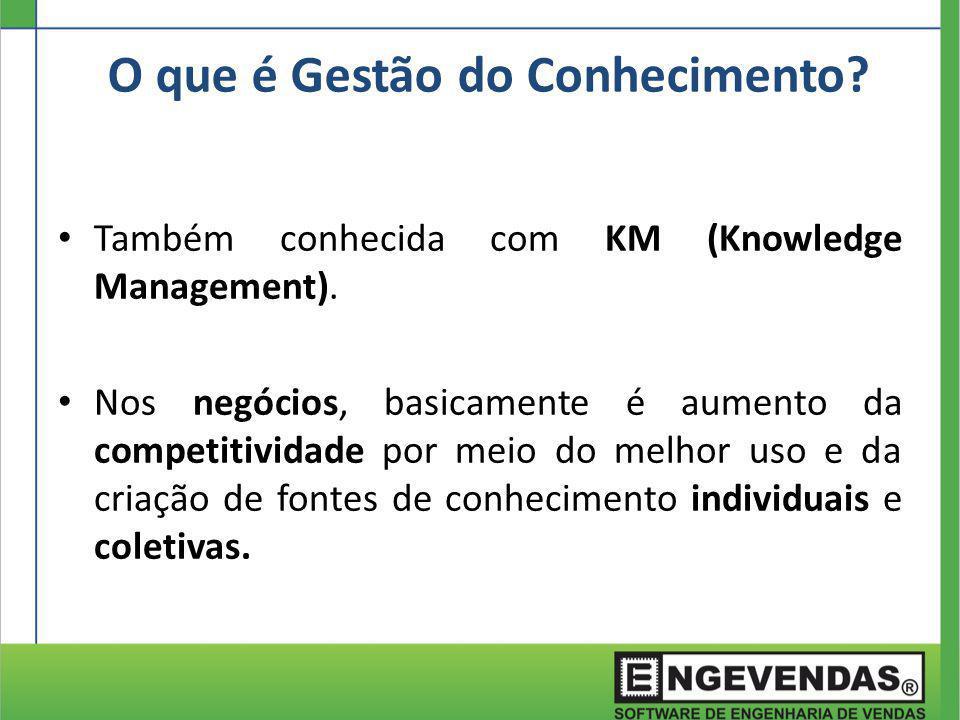 O que é Gestão do Conhecimento? Também conhecida com KM (Knowledge Management). Nos negócios, basicamente é aumento da competitividade por meio do mel