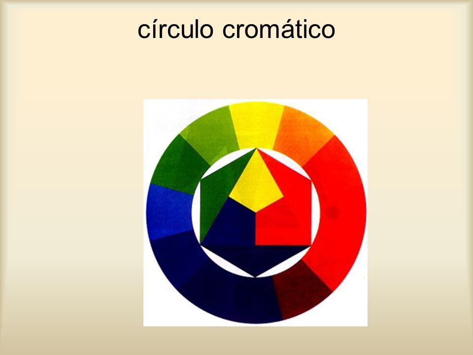 cor complementar A cor complementar de uma cor primária é a que resulta da mistura das outras duas cores primárias