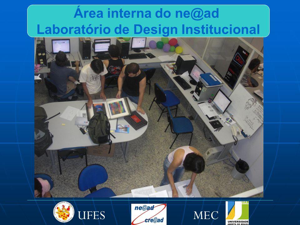 MECUFES Área interna do ne@ad Laboratório de Design Institucional