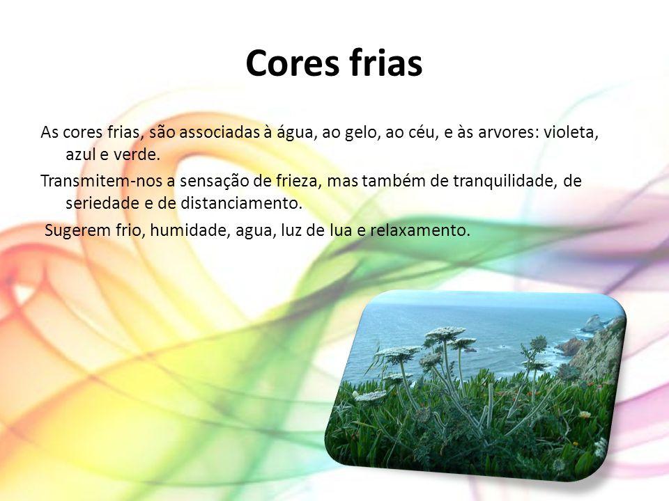 Cores aditivas e subtrativas Cores aditivasCores subtrativas