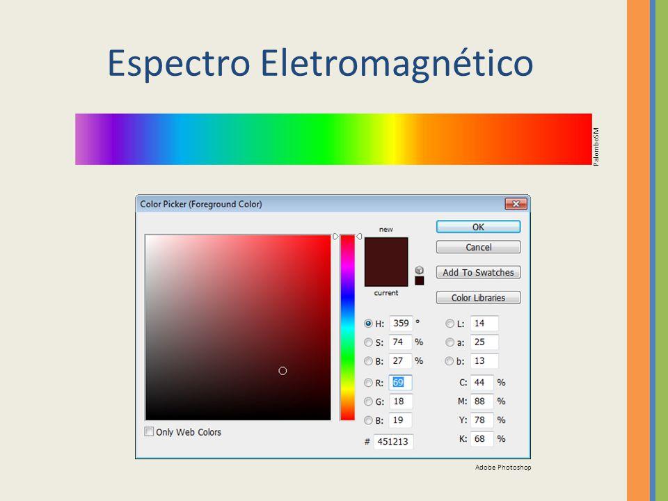 Espectro Eletromagnético PalomboSM Adobe Photoshop