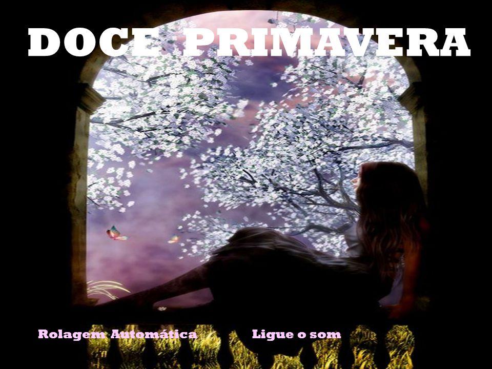 DOCE PRIMAVERA Rolagem Automática Ligue o som