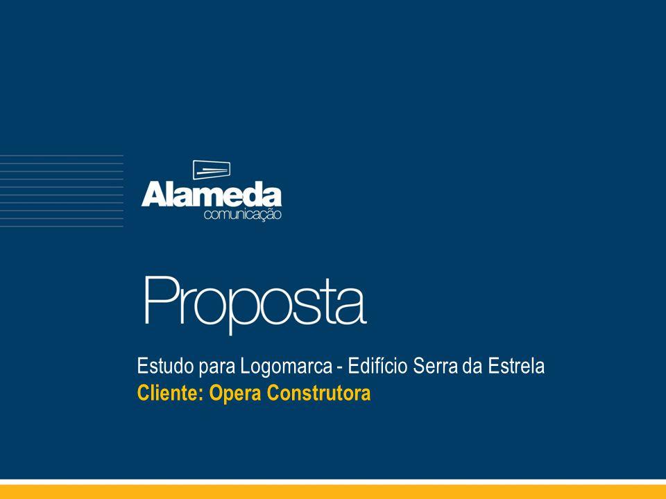 Estudo para Logomarca - Edifício Serra da Estrela Cliente: Opera Construtora