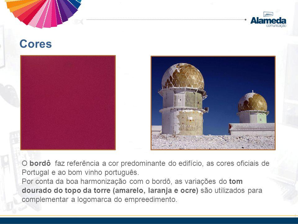 Cores O bordô faz referência a cor predominante do edifício, as cores oficiais de Portugal e ao bom vinho português. Por conta da boa harmonização com