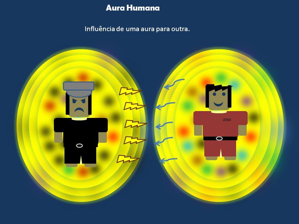 Aura Humana LEGO Influência de uma aura para outra.