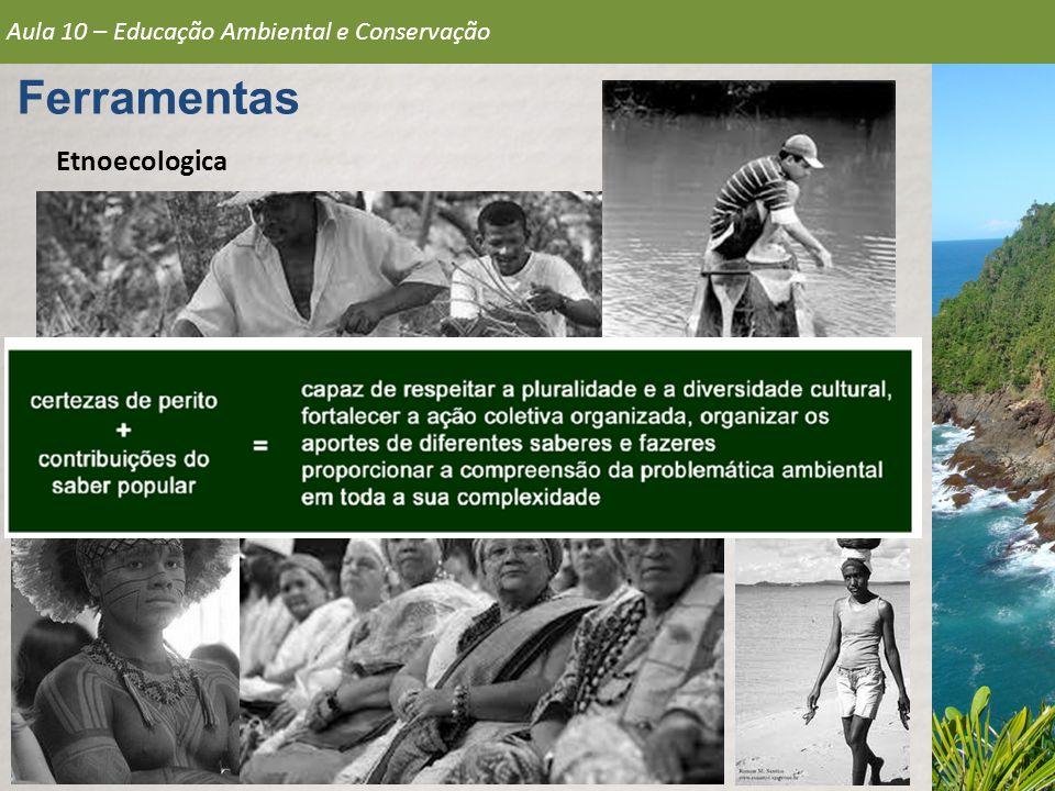 Etnoecologica Aula 10 – Educação Ambiental e Conservação Ferramentas