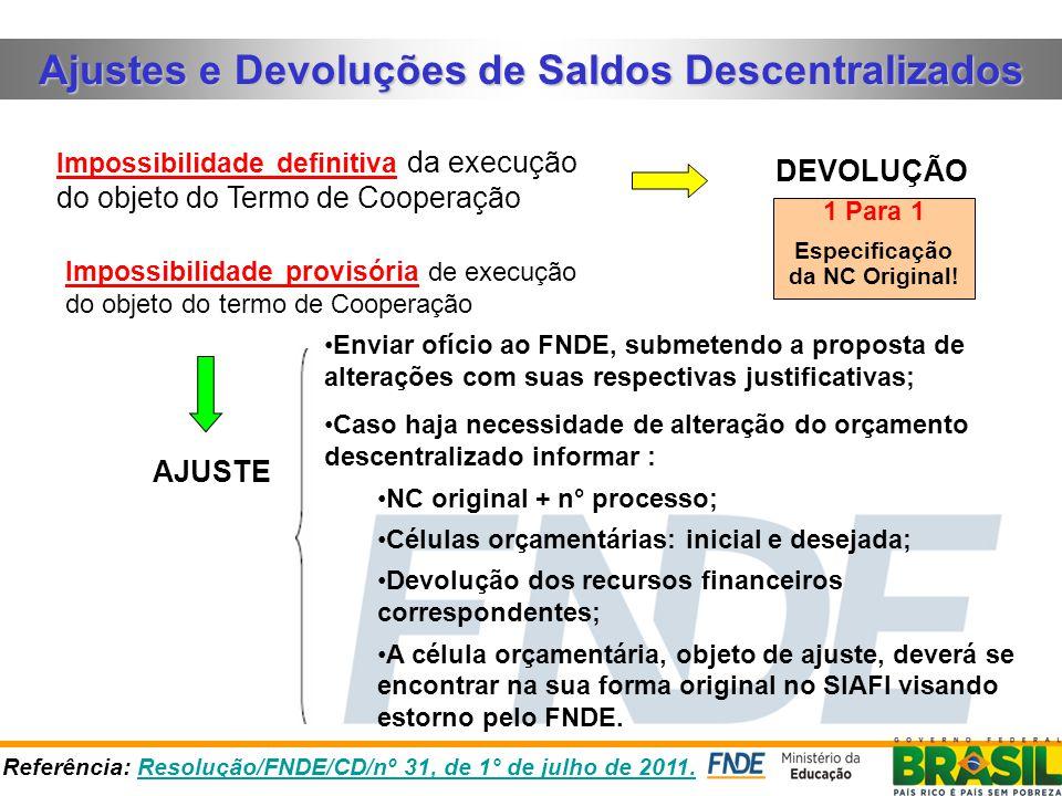 DOTAÇÃO DESCENTRALIZADA MATERIAL, BEM OU SERVIÇO P/ DISTRIBUIÇÃO GRATUITA