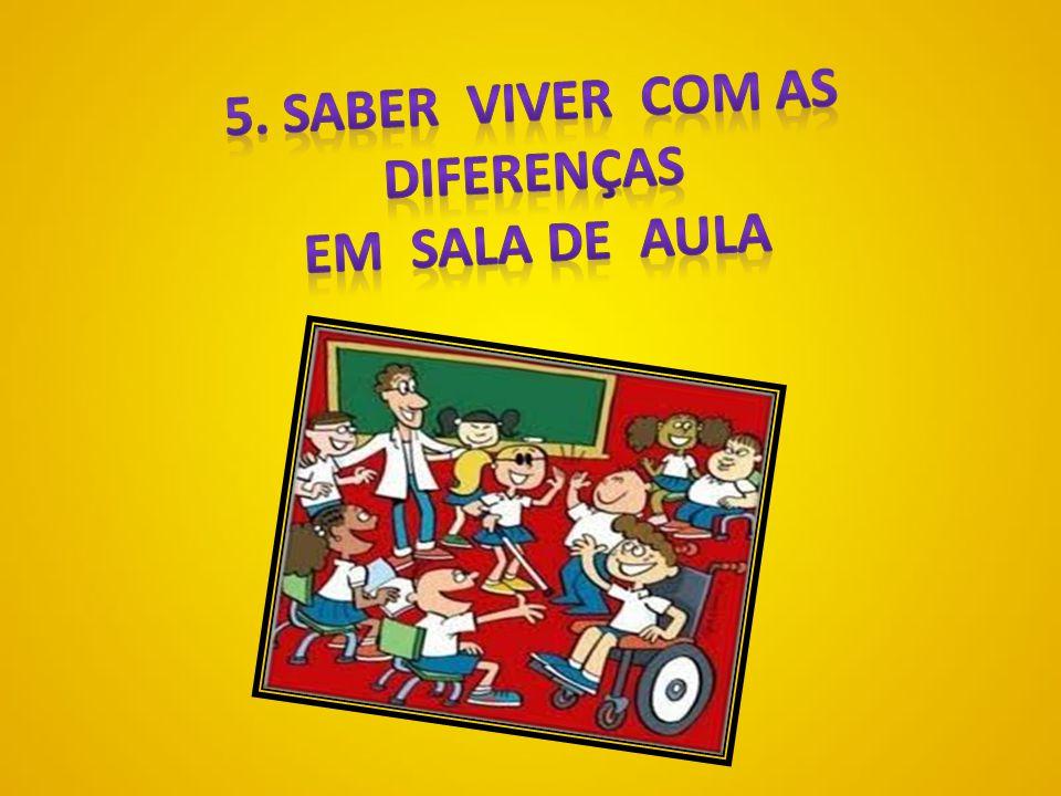 DIFICULDADES ENCONTRADAS POR PROFESSORES EM SALA DE AULA 5.