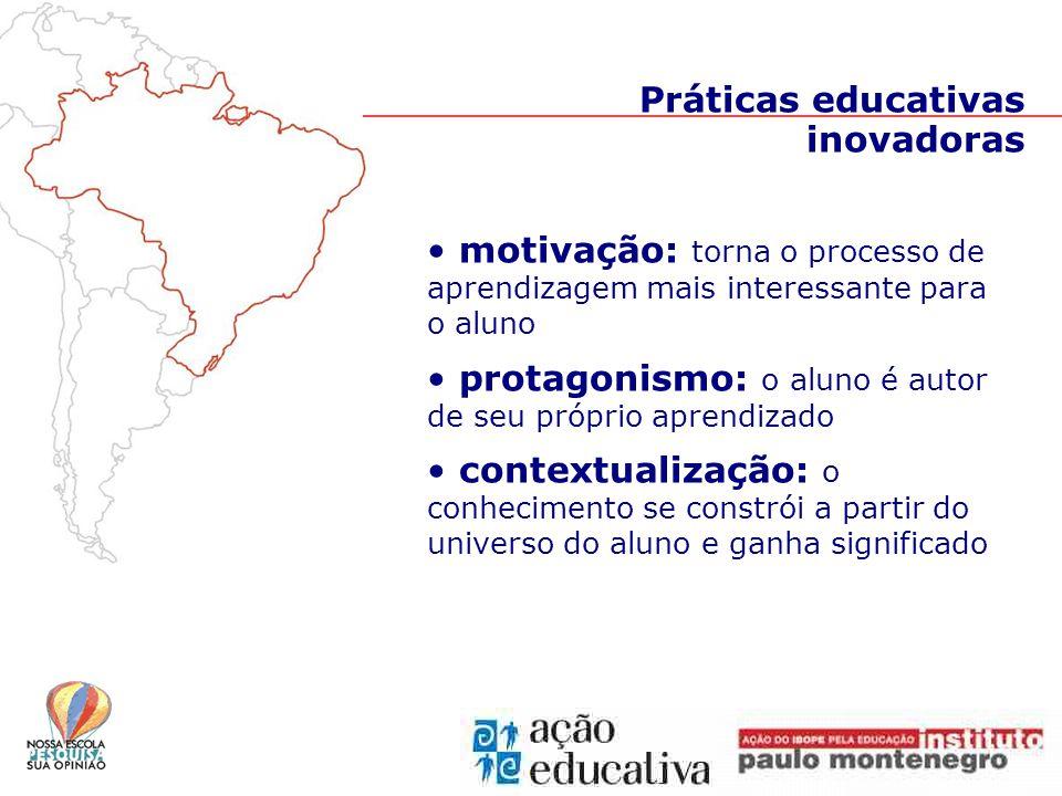 integração de disciplinas: procedimentos de pesquisa referem-se a conteúdos das várias áreas do conhecimento; temas escolhidos sugerem enfoques múltiplos e ajudam os alunos a estabelecer relações entre os diversos campos do conhecimento