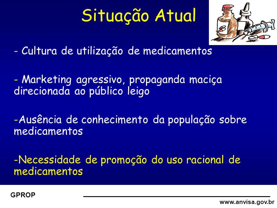 www.anvisa.gov.br GPROP EDUCANVISAEDUCANVISA  Material didático está em desenvolvimento a partir de discussão com os professores e profissionais de vigilância sanitária.