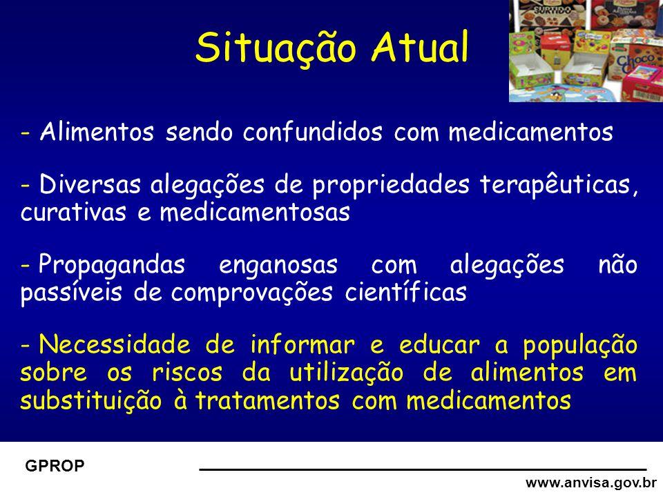 www.anvisa.gov.br GPROP Como modificar essa situação???? Desenvolvimento de estratégias...
