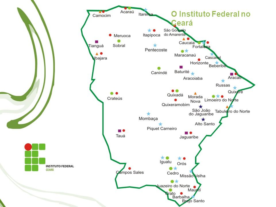 O Instituto Federal no Ceará