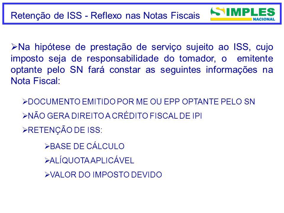 LC 128/2008 – Escritórios de Serv.Contábeis Cálculo do ISS LC 123/2006 Art.