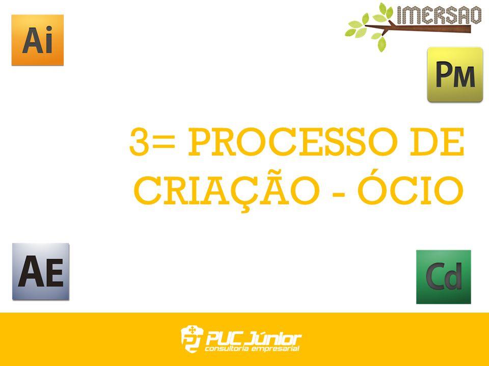3= PROCESSO DE CRIAÇÃO - ÓCIO