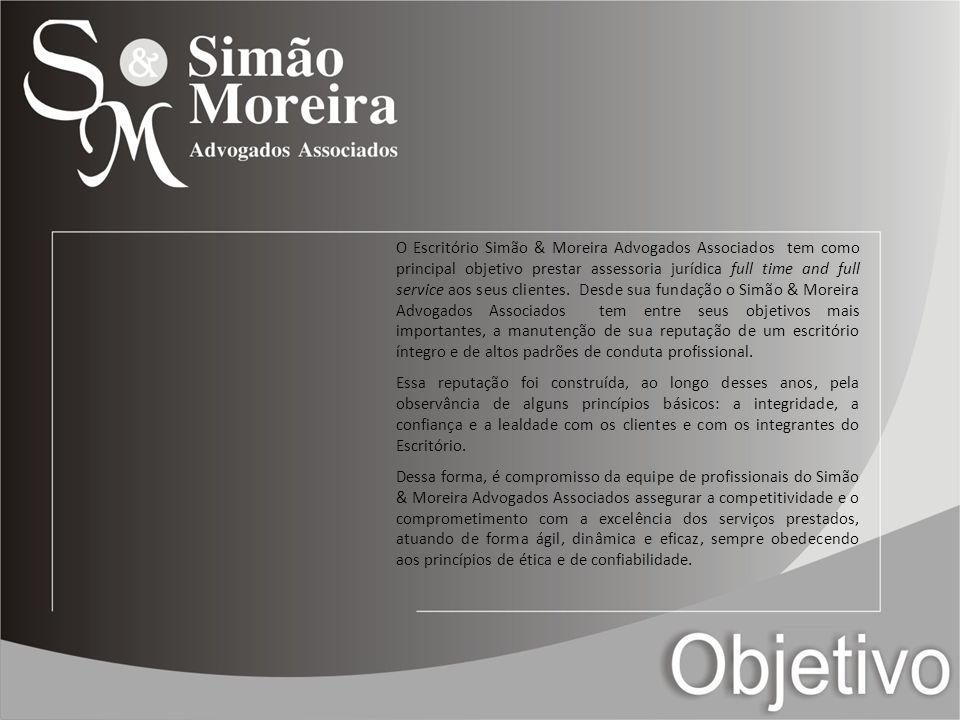 Criado em 1994 por profissionais experientes, com conceito estabelecido no mercado, Simão & Moreira Advogados Associados, acumulou um grande conhecimento do cenário jurídico-econômico brasileiro.