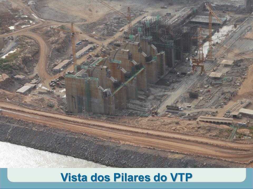 Vista dos Pilares do VTP
