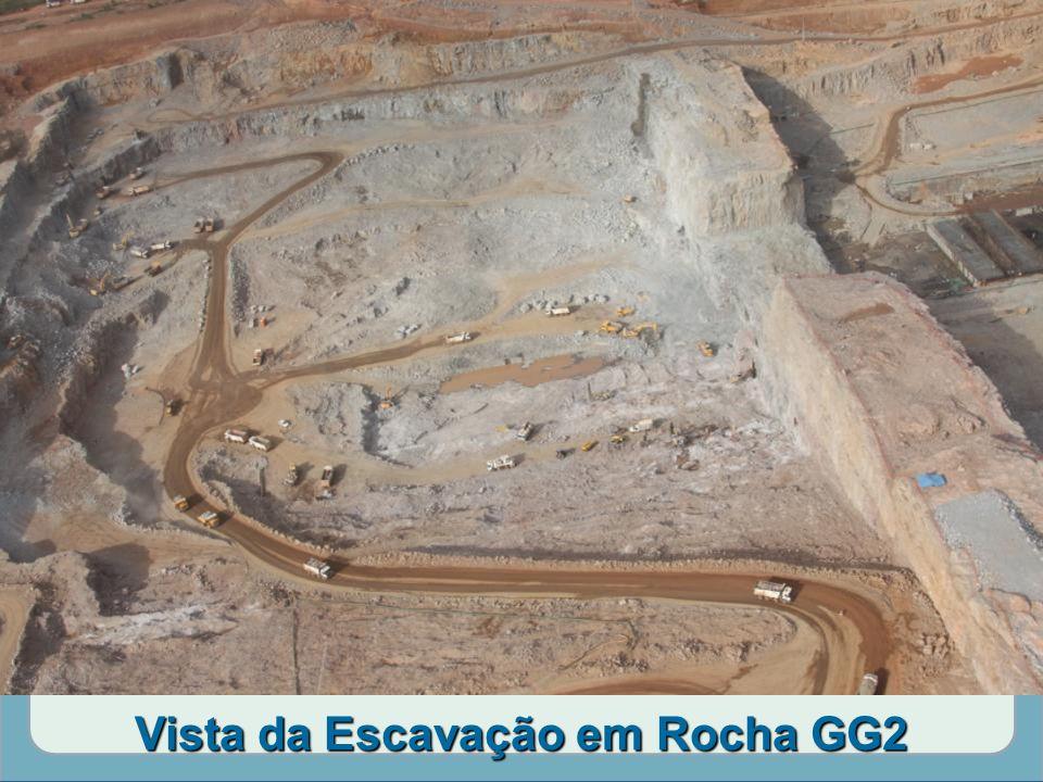 Vista da Escavação em Rocha GG2
