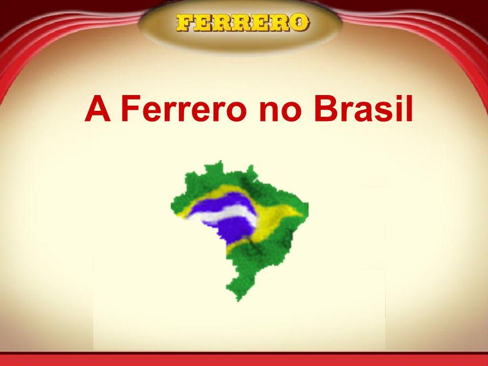 A Ferrero no Brasil