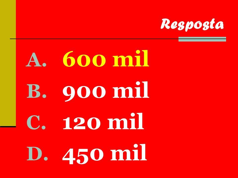 A. 180 B. 60 C. 40 D. 300 Resposta
