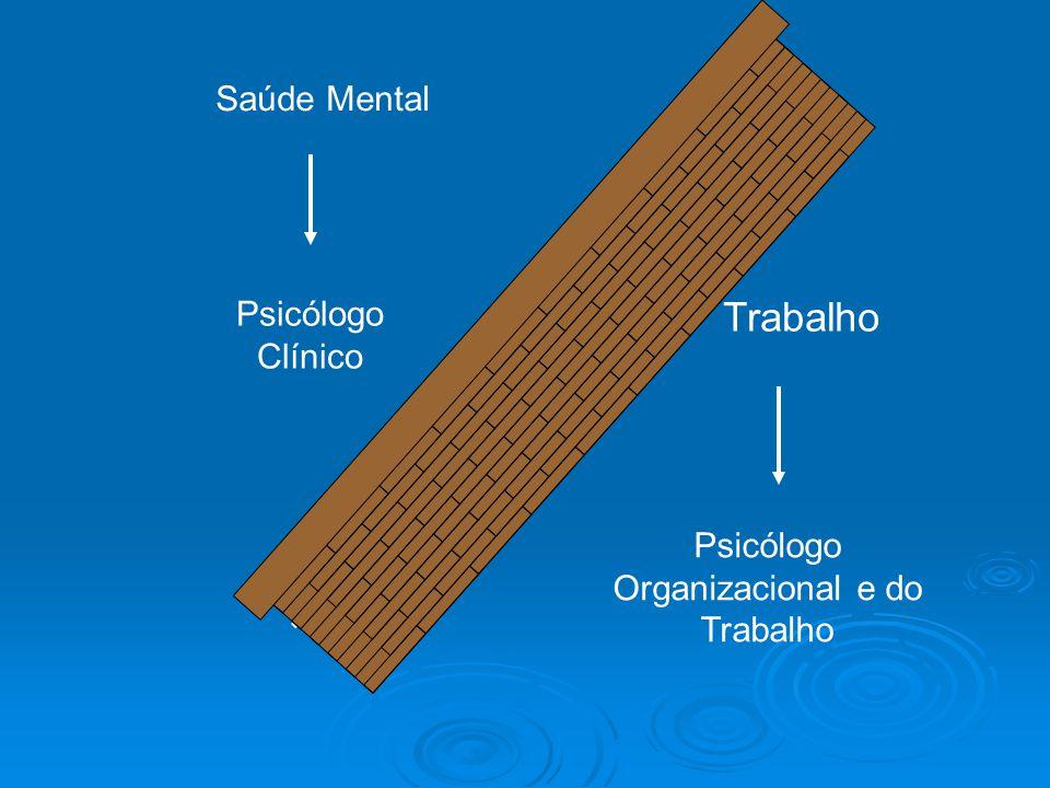 Saúde Mental Trabalho Psicólogo Clínico Psicólogo Organizacional e do Trabalho