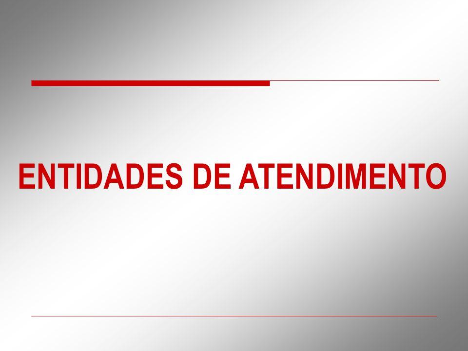 ENTIDADES DE ATENDIMENTO