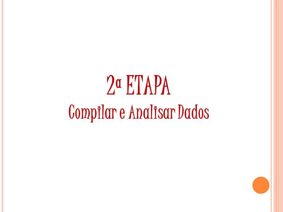 2ª ETAPA Compilar e Analisar Dados