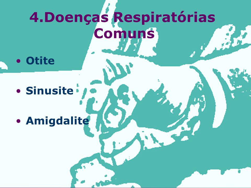 Otite Sinusite Amigdalite 4.Doenças Respiratórias Comuns