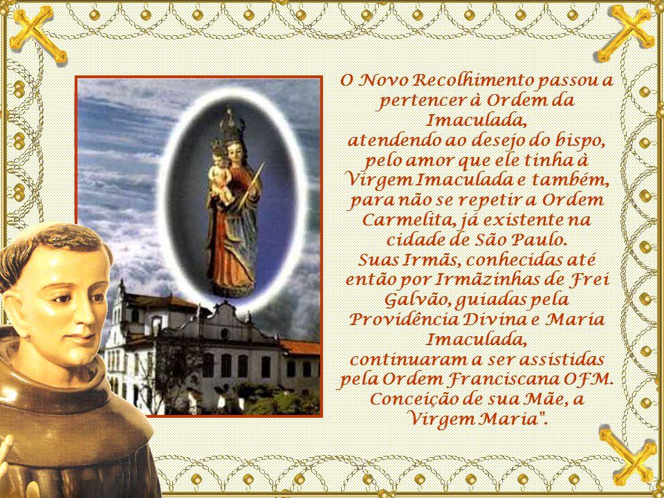 O mosteiro da Imaculada Conceição da Luz é um convento antigo, simples, mas muito bonito, de estilo arquitetônico colonial, seu arquiteto foi o próprio Frei Galvão.