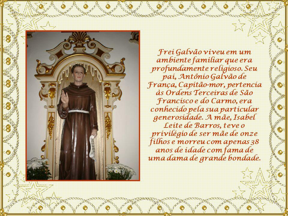 A confecção das pílulas foi entregue por Frei Galvão sómente à irmãs da ordem da Imaculada Conceição.