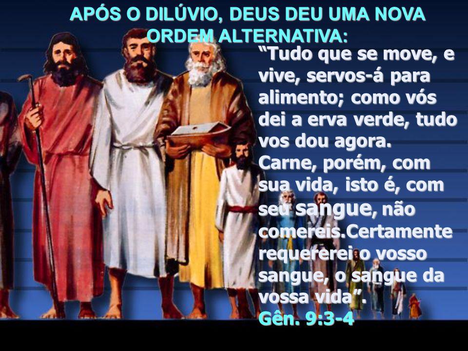"""""""Assim foram exterminados todos os seres que havia sobre a face da terra, o homem e o animal, os répteis, e as aves...ficou somente Noé e os que com e"""