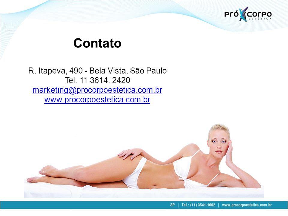 Contato R. Itapeva, 490 - Bela Vista, São Paulo Tel.