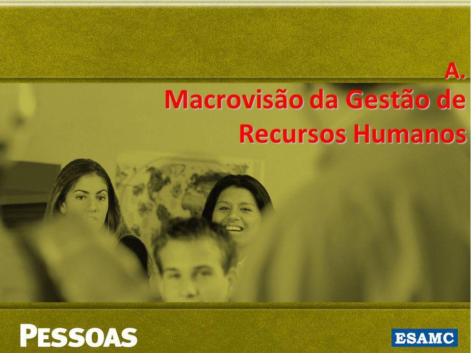 A. Macrovisão da Gestão de Recursos Humanos