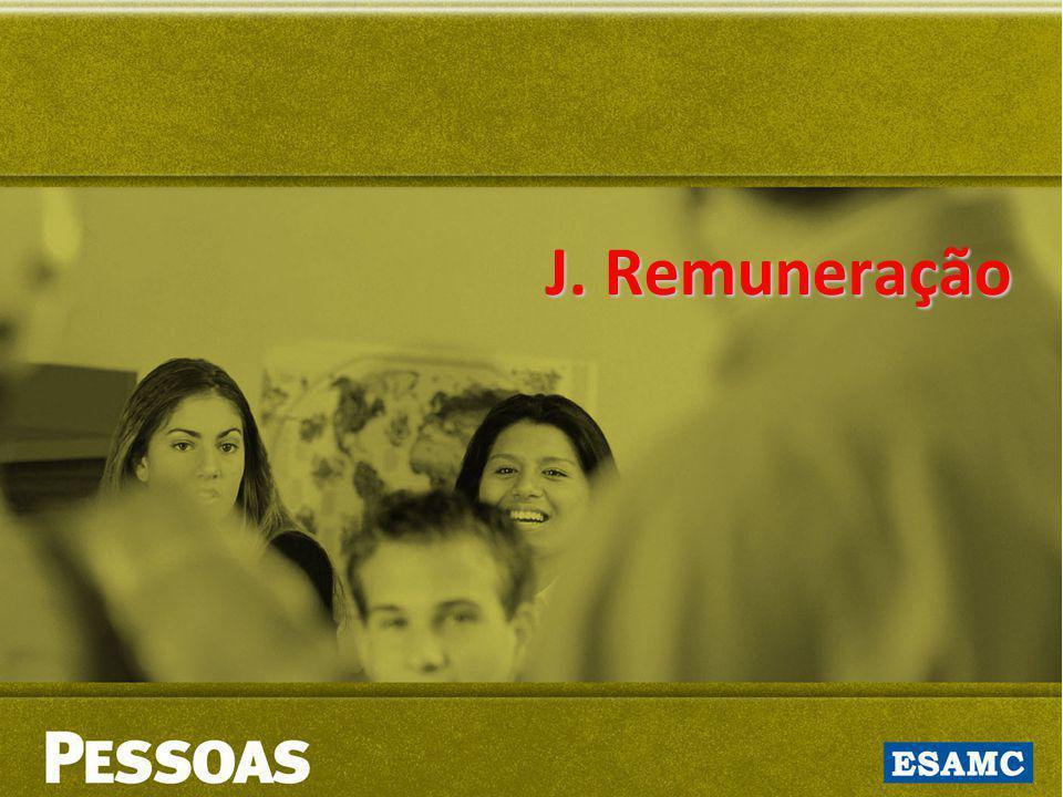 J. Remuneração