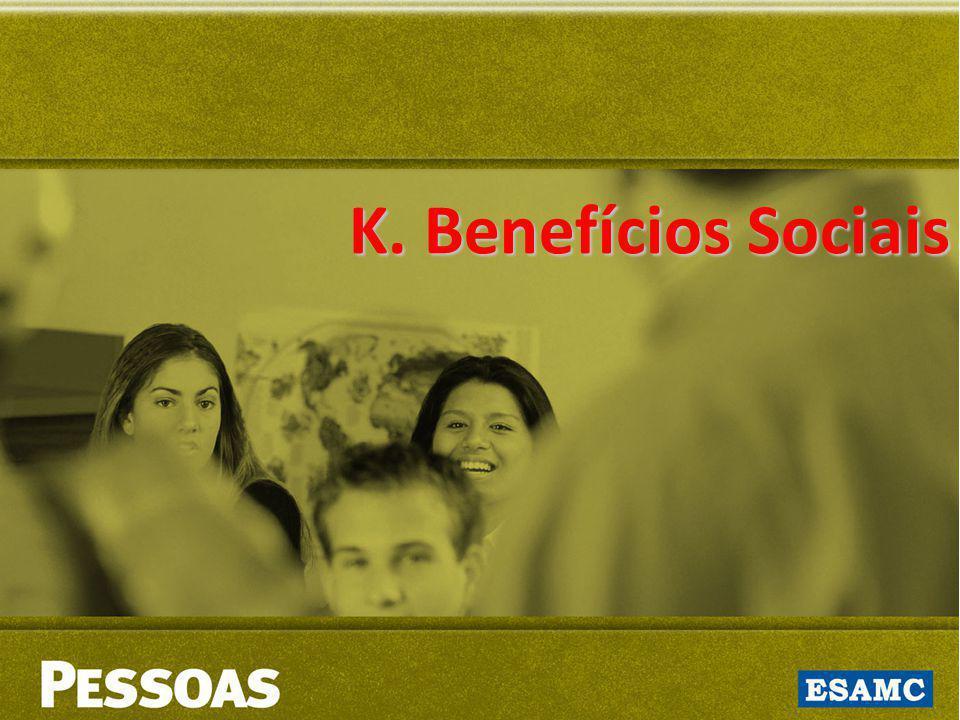 K. Benefícios Sociais K. Benefícios Sociais