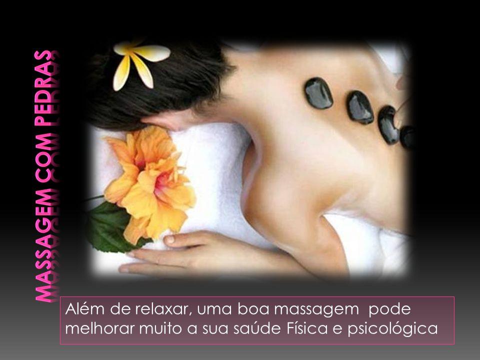 Além de relaxar, uma boa massagem pode melhorar muito a sua saúde Física e psicológica