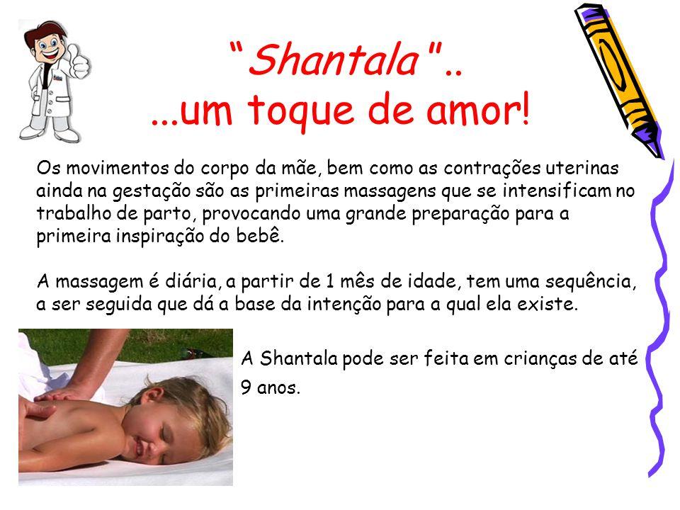 Shantala DEZ: Vire a criança de frente novamente para massagear o rosto.