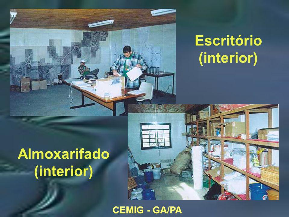 CEMIG - GA/PA Escritório (interior) Almoxarifado (interior)