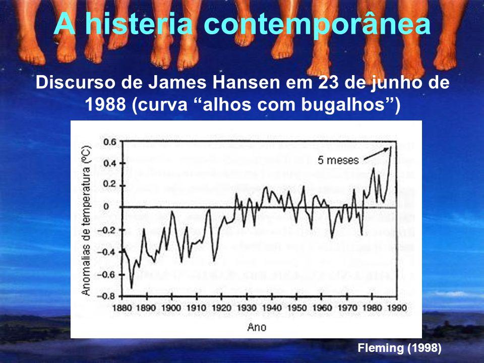 """""""mesmo um aumento de um fator 8 na quantidade de CO 2, o que é altamente improvável nos próximos milhares de anos, produzirá um aumento na temperatura"""