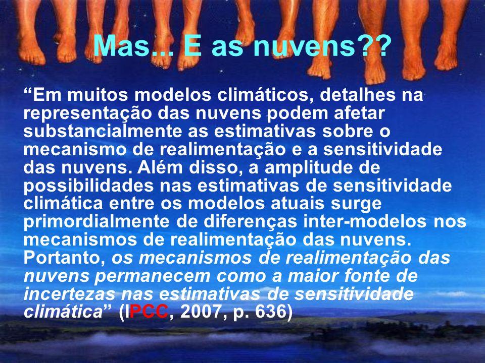 Hipótese íris (Lindzen) Lindzen (1990)