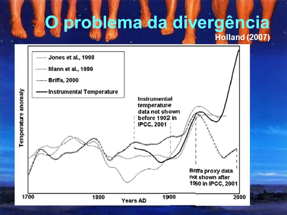 """""""evidências atuais não apóiam períodos globais e sincrônicos de aquecimento e resfriamento anômalo ao longo desse intervalo, e os períodos convenciona"""