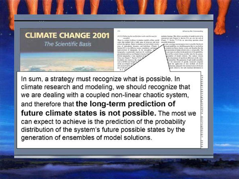 Fato 9 As afirmações sobre aquecimento global divulgadas pela mídia são grotescamente diferentes daquelas contidas nos Summaries for Policymakers do I