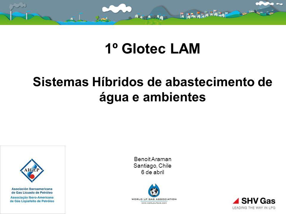 1º Glotec LAM Sistemas Híbridos de abastecimento de água e ambientes Benoit Araman Santiago, Chile 6 de abril