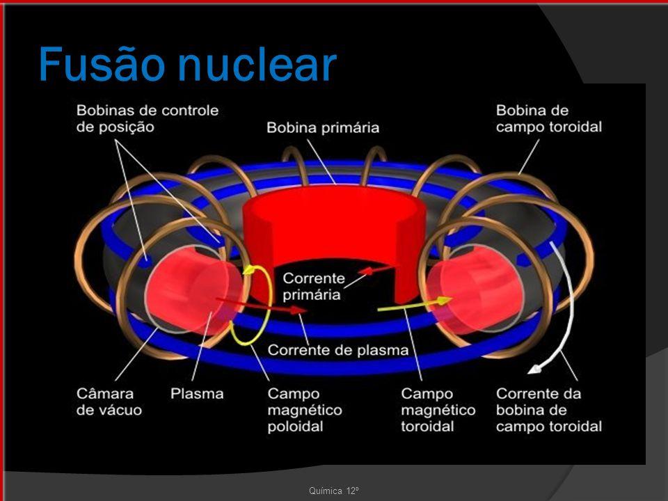 Fusão nuclear Química 12º